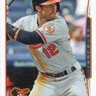 Steve Lombardozzi 2014 Topps Update #US-90 Baltimore Orioles Baseball Card