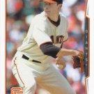 Javier Lopez 2014 Topps Update #US-242 San Francisco Giants Baseball Card