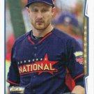 Jonathan Lucroy 2014 Topps Update #US-255 Milwaukee Brewers Baseball Card