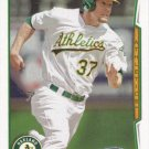 Brandon Moss 2014 Topps #471 Oakland Athletics Baseball Card