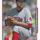 Edward Mujica 2014 Topps Update #US-161 Boston Red Sox Baseball Card