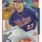 Chris Parmelee 2014 Topps #218 Minnesota Twins Baseball Card
