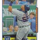Brayan Pena 2014 Topps #28 Detroit Tigers Baseball Card