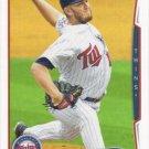 Glen Perkins 2014 Topps #492 Minnesota Twins Baseball Card