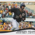 Gregory Polanco 2014 Topps Update Rookie Debut #US-20 Pittsburgh Pirates Baseball Card