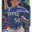 Erasmo Ramirez 2014 Topps #128 Seattle Mariners Baseball Card