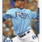Enny Romero 2014 Topps Rookie #49 Tampa Bay Rays Baseball Card
