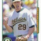 Jeff Samardzija 2014 Topps Update #US-92 Oakland Athletics Baseball Card