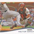 Hector Sanchez 2014 Topps #399 San Francisco Giants Baseball Card
