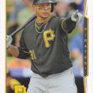 Jose Tabata 2014 Topps #654 Pittsburgh Pirates Baseball Card