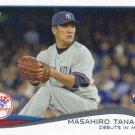 Masahiro Tanaka 2014 Topps Update Rookie #US-200 New York Yankees Baseball Card