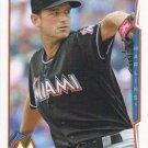 Jacob Turner 2014 Topps #392 Miami Marlins Baseball Card