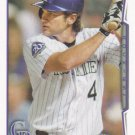 Ryan Wheeler 2013 Topps #352 Colorado Rockies Baseball Card