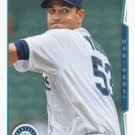 Chris Young 2014 Topps Update #US-133 Seattle Mariners Baseball Card