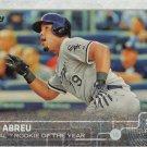Jose Abreu 2015 Topps #583 Chicago White Sox Baseball Card