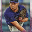 Jhoulys Chacin 2015 Topps #366 Colorado Rockies Baseball Card