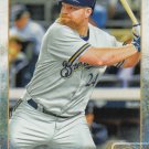 Adam Lind 2015 Topps #455 Milwuakee Brewers Baseball Card
