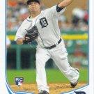 Jose Alvarez 2013 Topps Update Rookie #US276 Detroit Tigers Baseball Card