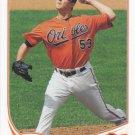 Zach Britton 2013 Topps Update #US292 Baltimore Orioles Baseball Card