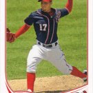 Sean Burnett 2013 Topps #254 Washington Nationals Baseball Card