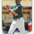 Alberto Callaspo 2013 Topps Update #US241 Oakland Athletics Baseball Card