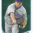 Scott Feldman 2013 Topps Update #US231 Chicago Cubs Baseball Card