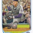 Nick Hundley 2013 Topps #556 San Diego Padres Baseball Card