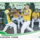 Brandon Inge 2013 Topps #76 Oakland Athletics Baseball Card