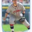 Chris Johnson 2013 Topps Update #US195 Atlanta Braves Baseball Card