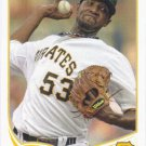 James McDonald 2013 Topps #390 Pittsburgh Pirates Baseball Card
