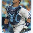 Jose Molina 2013 Topps #492 Tampa Bay Rays Baseball Card