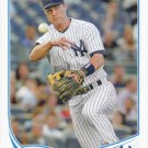 Jayson Nix 2013 Topps Update #US262 New York Yankees Baseball Card