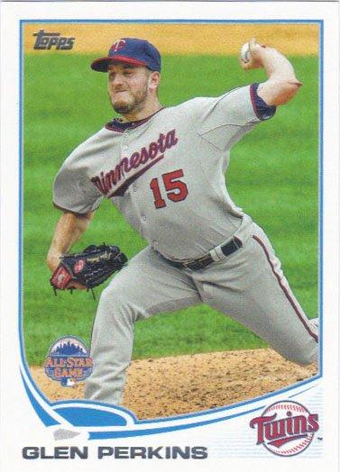 Glen Perkins 2013 Topps Update #US244 Minnesota Twins Baseball Card