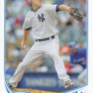 David Phelps 2013 Topps Update #US127 New York  Yankees Baseball Card
