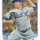 Paco Rodriguez 2013 Topps Rookie #99 Los Angeles Dodgers Baseball Card