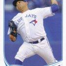 Ricky Romero 2013 Topps #134 Toronto Blue Jays Baseball Card