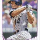 Josh Rutledge 2013 Topps #553 Colorado Rockies Baseball Card