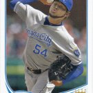 Ervin Santana 2013 Topps #366 Kansas City Royals Baseball Card