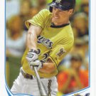 Logan Schafer 2013 Topps Update #US291 Milwaukee Brewers Baseball Card