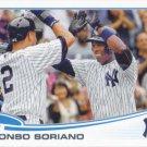 Alfonso Soriano 2013 Topps Update #US212 New York Yankees Baseball Card