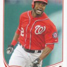 Denard Span 2013 Topps Update #US38 Washington Nationals Baseball Card