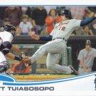 Matt Tuiasosopo 2013 Topps Update #US120 Detroit Tigers Baseball Card