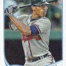 B.J. Upton 2013 Topps #614 Atlanta Braves Baseball Card