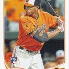 Henry Urrutia 2013 Topps Update Rookie #US329 Baltimore Orioles Baseball Card