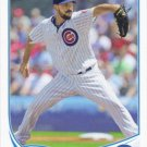 Carlos Villanueva 2013 Topps Update #US62 Chicago Cubs Baseball Card