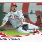 Delmon Young 2013 Topps Update #US242 Philadelphia Phillies Baseball Card