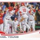 Michael Young 2013 Topps Update #US90 Philadelphia Phillies Baseball Card