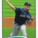 Blake Beavan 2012 Topps #168 Seattle Mariners Baseball Card