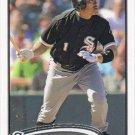 Kosuke Fukudome 2012 Topps #342 Chicago White Sox Baseball Card