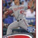 Gio Gonzalez 2012 Topps Update #US326 Washington Nationals Baseball Card